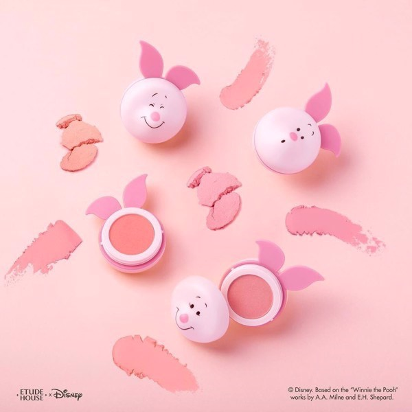 Phấn Má Hồng Etude House Happy With Piglet Jelly Mousse Blusher