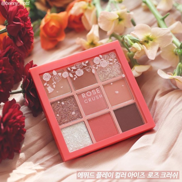 Phấn Mắt 9 Ô Etude House Play Color Eyes Rose Crush