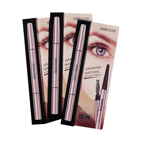 Chì Kẻ Mày Sivanna Colors Drawing Natural Automatic Eyebrow ES8007