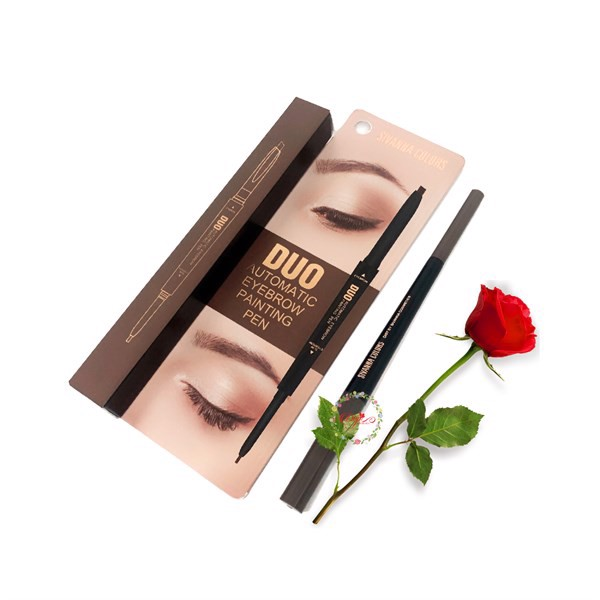 Chì Mày 2 Đầu Sivanna Colors Duo Automatic Eyebrow Panting Pen ES8004