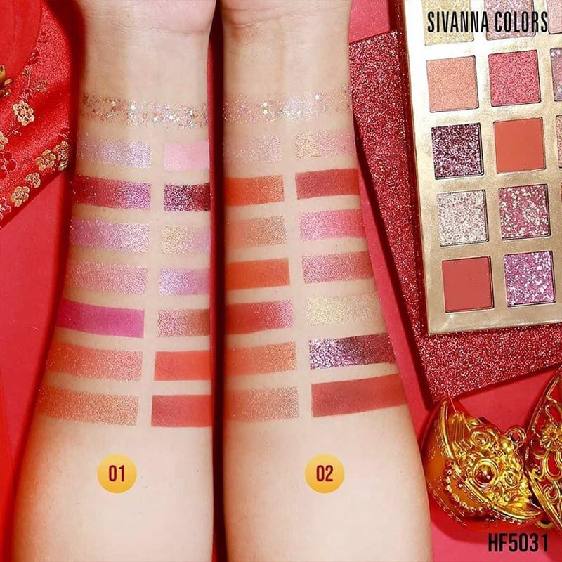 Bảng Phấn Mắt Sivanna Colors Lucky Pretty Eye Shadow Palette HF5031