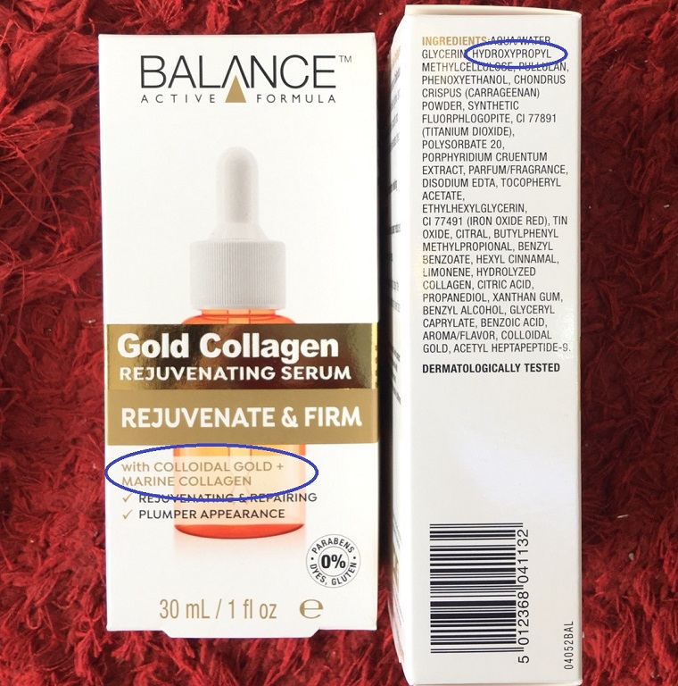 Tinh Chất Sáng Da Balance Active FormulaGold Collagen Rejuvenating Serum 1- bici cosmetics
