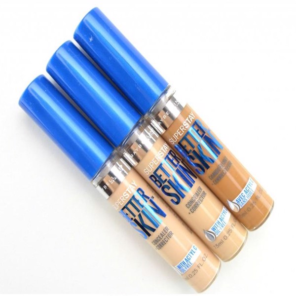 Che khuyết điểm Maybelline – Superstay Better Skin Concealer Corrector