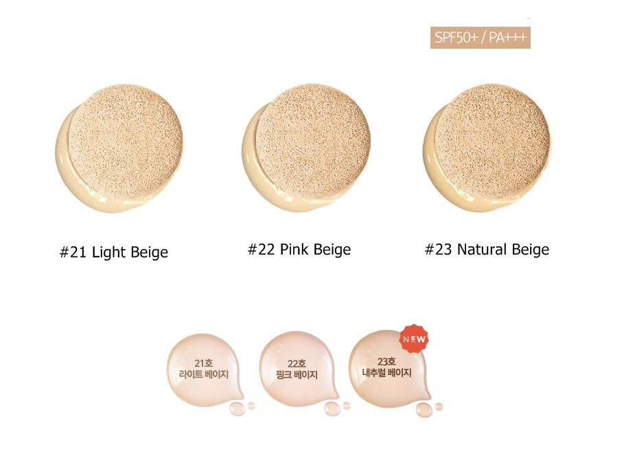 3 tone màu April Skin Magic Snow Cushion