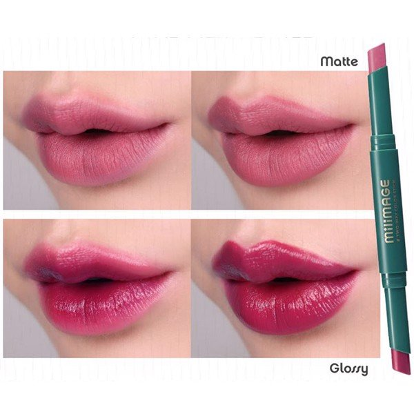 Son Thỏi Lì 2 Đầu Milimage Two Way Color Stick