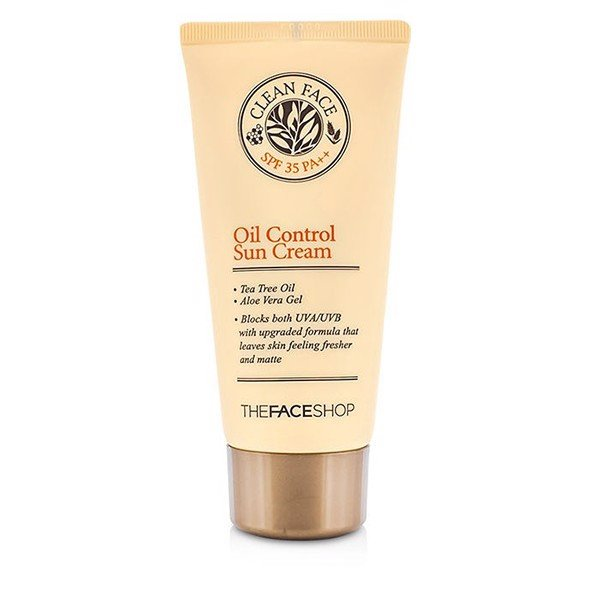 Kem Chống Nắng The Face Shop Oil Control Sun Cream