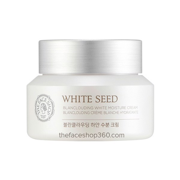 Kem Dưỡng The Face Shop White Seed Blanclouding Moisture Cream