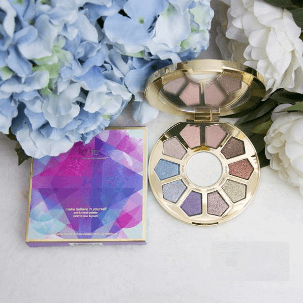Bảng Phấn Mắt Và Má Tarte Make Believe In Yourself Eye & Cheek Palette