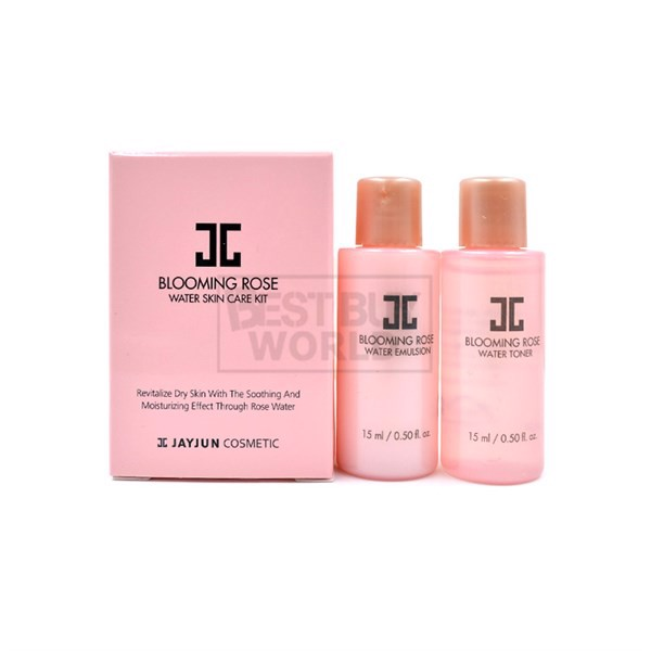 Bộ dưỡng da Jayjun Blooming Rose Water Skin Care Kit