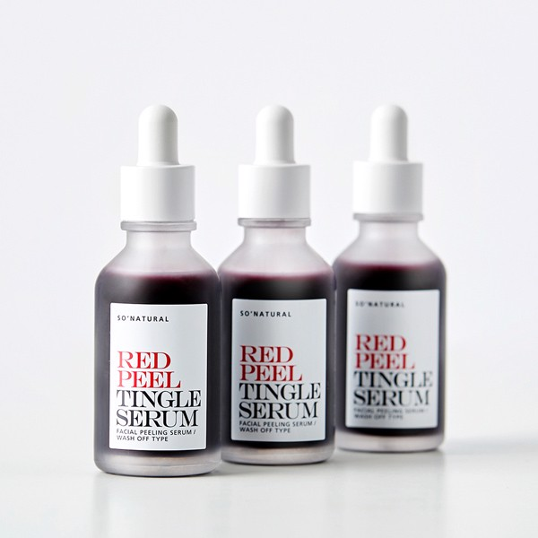 [NEW 2020] Serum Red Peel Tingle Serum -So'Natural