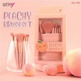 Set 5 cọ trang điểm Ashley Peachy Brush Set 5Pcs