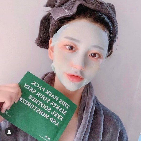 Mặt Nạ Lạnh Aróh Centella Herb Cooling Mask Pack