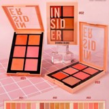 Phấn Má Hồng Sivanna Colors Insider Intensity Blusher Palette HF5025