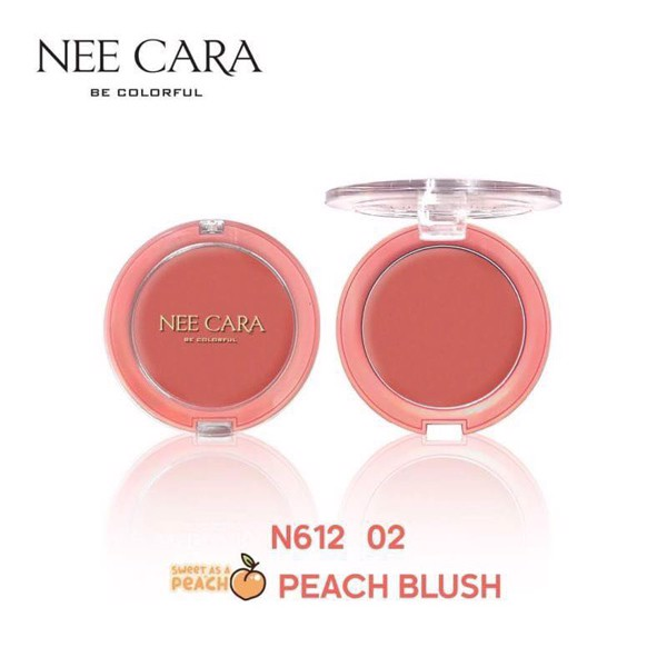 Phấn Má Hồng Nee Cara Be Colorful Peach Blush N612