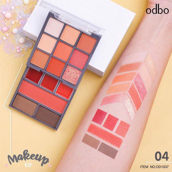 Bảng Make Up Odbo Makeup Kit OD1037