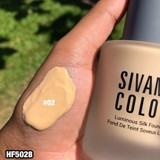 Kem Nền Sivanna Colors Full Coverage Weightless Matte Liquid Foudation HF5028
