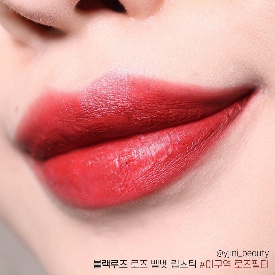 Black Rouge Rose Velvet Lipstick - Bici Cosmetic