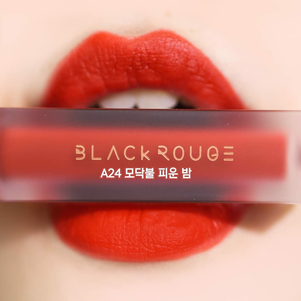 [HOT NEW] Son Kem Lì Black Rouge Air Fit Velvet Tint Ver 5: BAM ( không tđ)