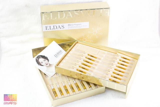 Eldas Eg Tox Program có chứa rất nhiều dưỡng chất tốt cho da 1