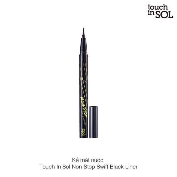 Kẻ Mắt Nước Touch In Sol Non-Stop Swif Black Liner
