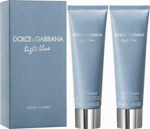 Shower Gel + After Shave Balm Dolce & Gabbana Light Blue