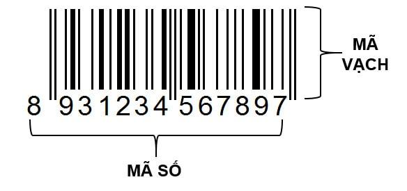 Mã vạch Barcode truyền thống 1