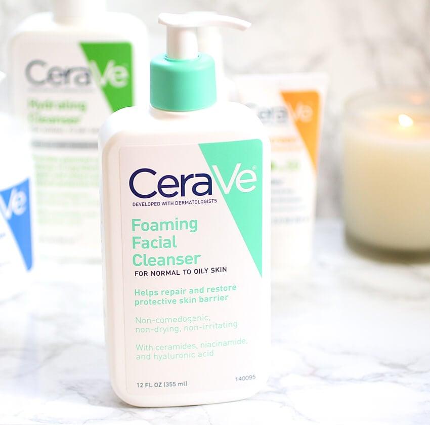 Sữa rửa mặt CeraVe Foaming Facial Cleanser- vị cứu tinh làn da mụn-bicicosmetics.vn