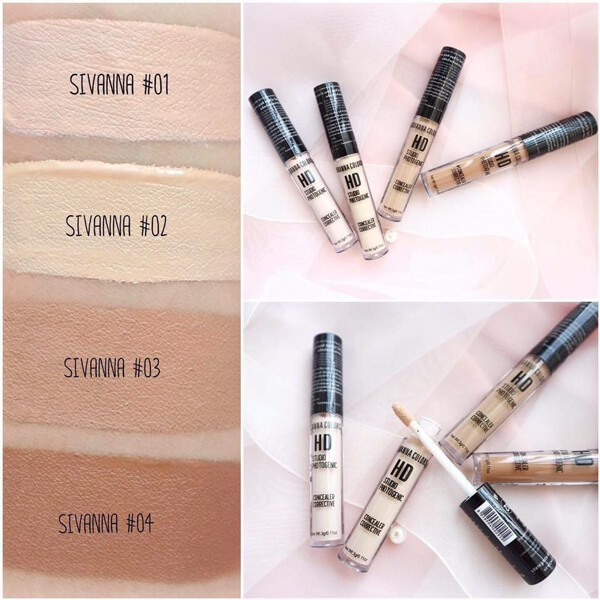Che Khuyết Điểm Sivanna Colors HD Studio Photogenic Concealer Corrective HF7005