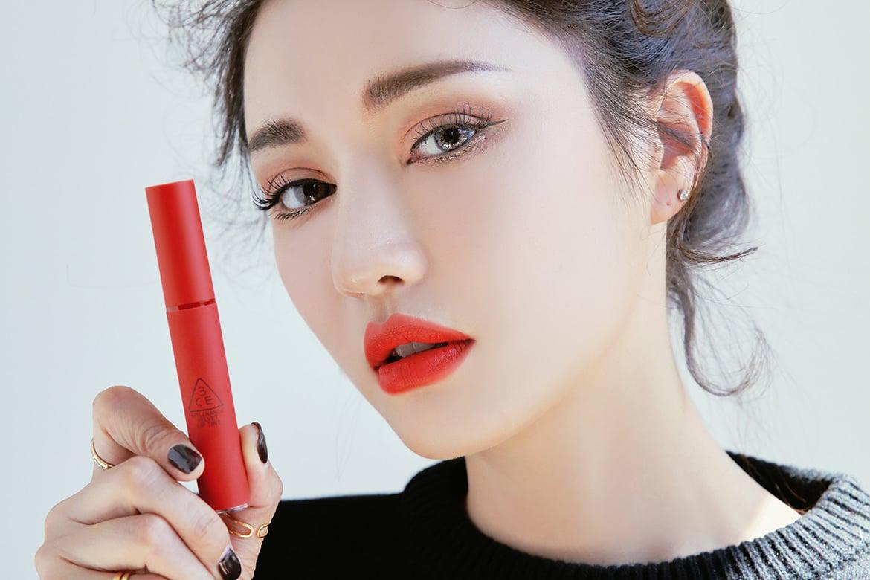 Review Son 3ce Velvet Lip Tint Childlike đỏ Cam