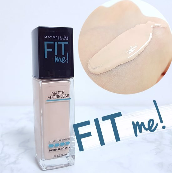 Kem Nền Mịn Lì Maybelline Fit Me Matte + Poreless Foundation