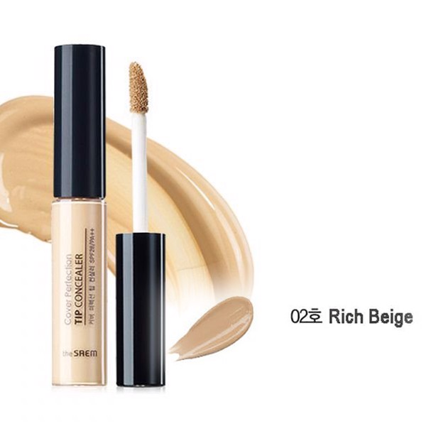 Kem che khuyết điểm The SAEM Cover Perfection Tip Concealer (6,5g)