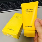 Kem chống nắng The Saem Eco Earth Light Sun Cream SPF50+/PA++++