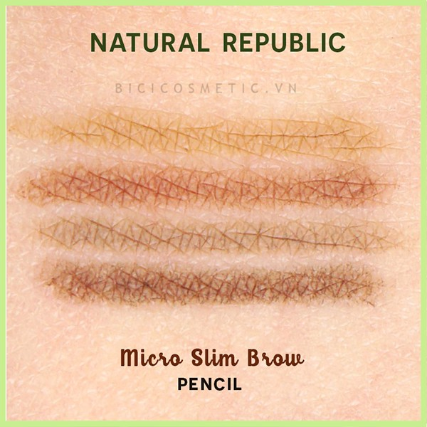 Bút Kẻ Mày Nature Republic Micro Slim Brow Pencil