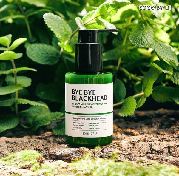 Sữa Rửa Mặt Sủi Bọt Some By Mi Bye Bye Blackhead 30 Days Miracle Green Tea Tox Bubble Cleanser 120ml