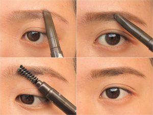 Cách dùng Bút kẻ mày Etude Drawing Eye Brow 1
