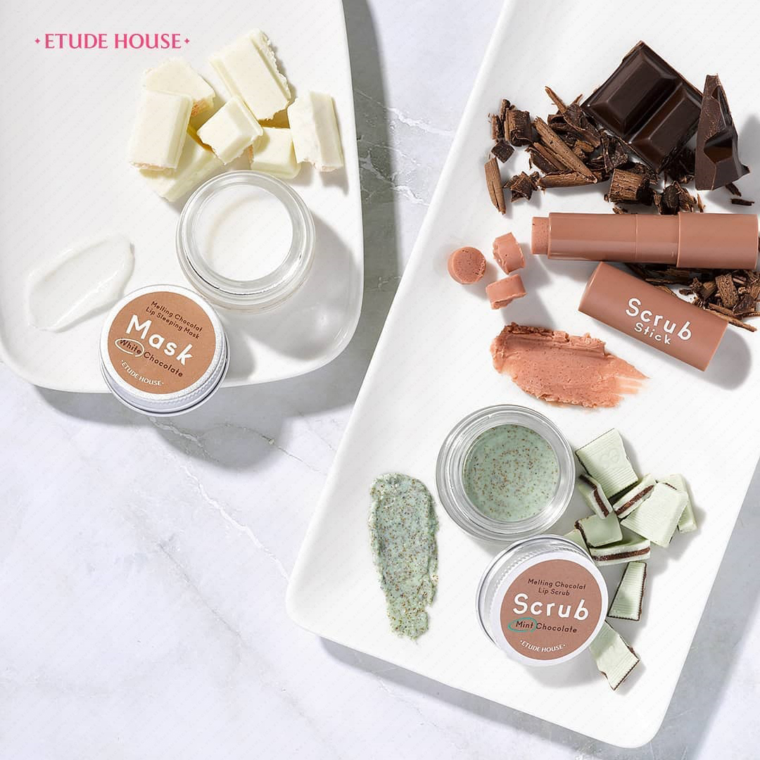 Etude House Melting Chocolat Lip Scrub - Bici Cosmetics