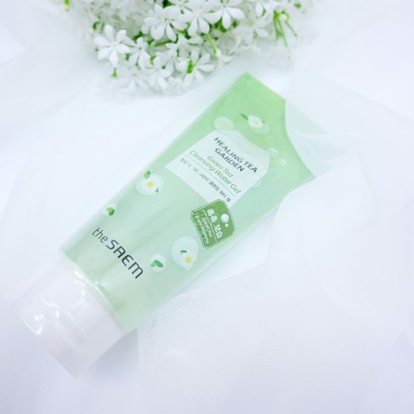 Sửa Rửa Mặt Dạng Gel The Saem Healing Tea Garden Green Tea Cleansing Water Gel 200ml