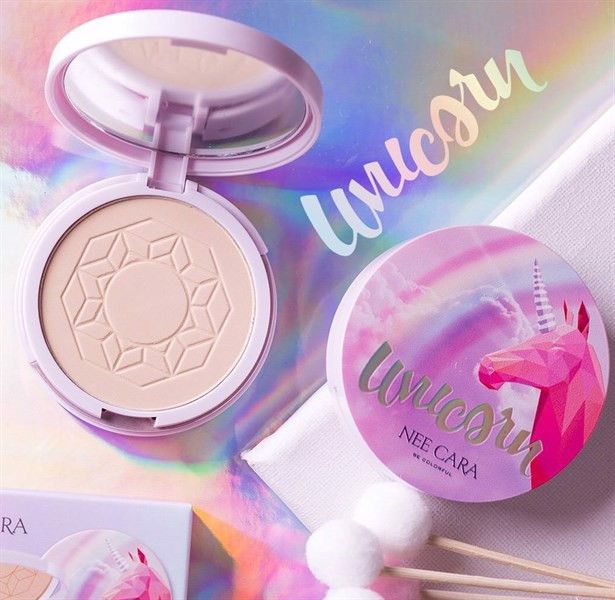 Phấn Phủ Nee Cara Unicorn Pressed Powder N663