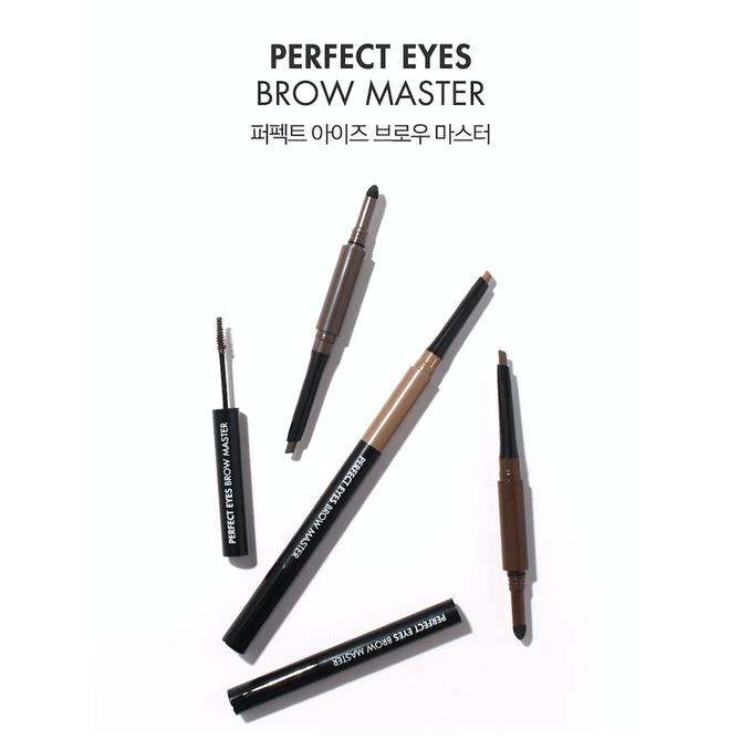 Bút trang điểm mày Perfect Eyes Brow Master đa năng với 3 công dụng trong 1 sản phẩm