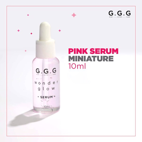 Serum Mini G.G.G Wonder Glow Serum Miniature Set