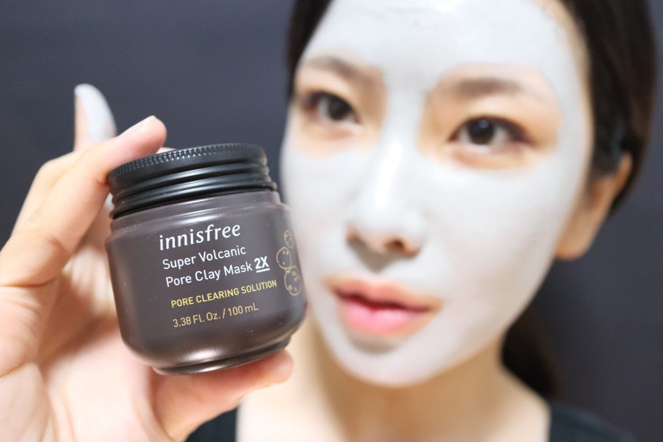 Innisfree Super Volcanic Pore Clay Mask 2X - Bici Cosmetics