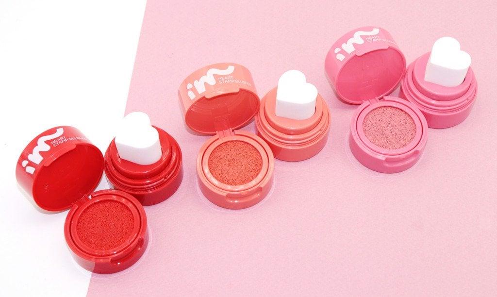 Má hồng dạng kem I'm Meme I'm Heart Stamp Blusher - bici cosmetics