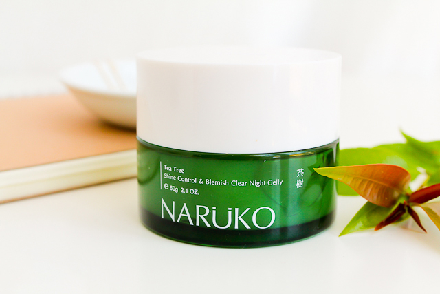 NARUKO Tea Tree Shine Control & Blemish Clear Night Gelly- Bici Cosmetics