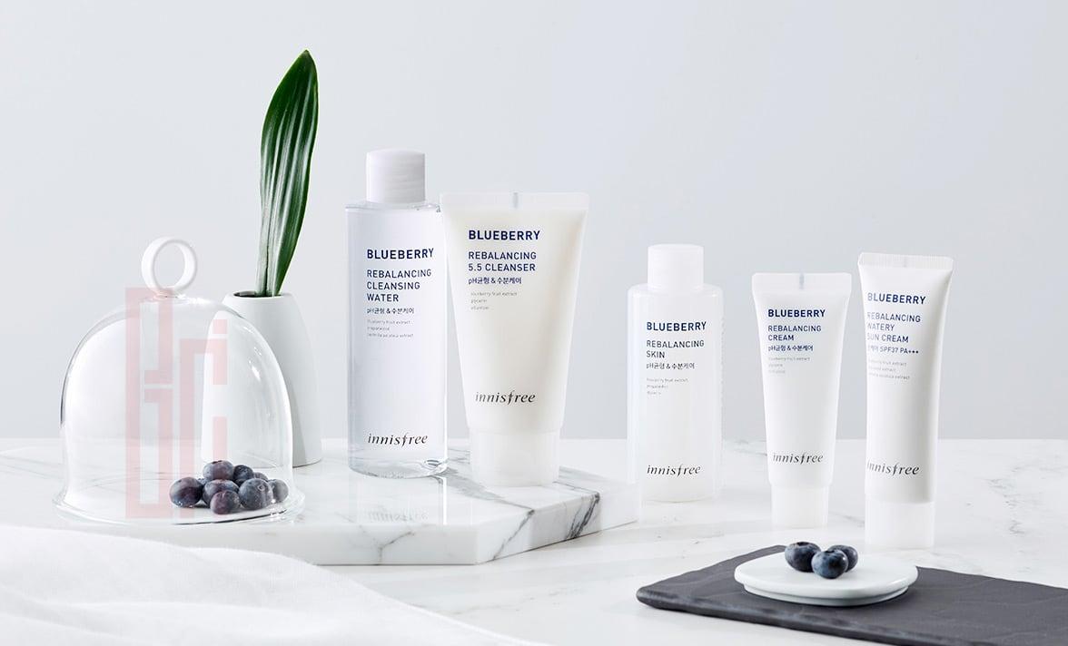 INNISFREE Blueberry Rebalancing Skin 1- BICI COSMETICS