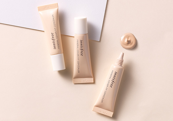 Che Khuyết Điểm Innisfree Mineral Cover Fit Concealer 1