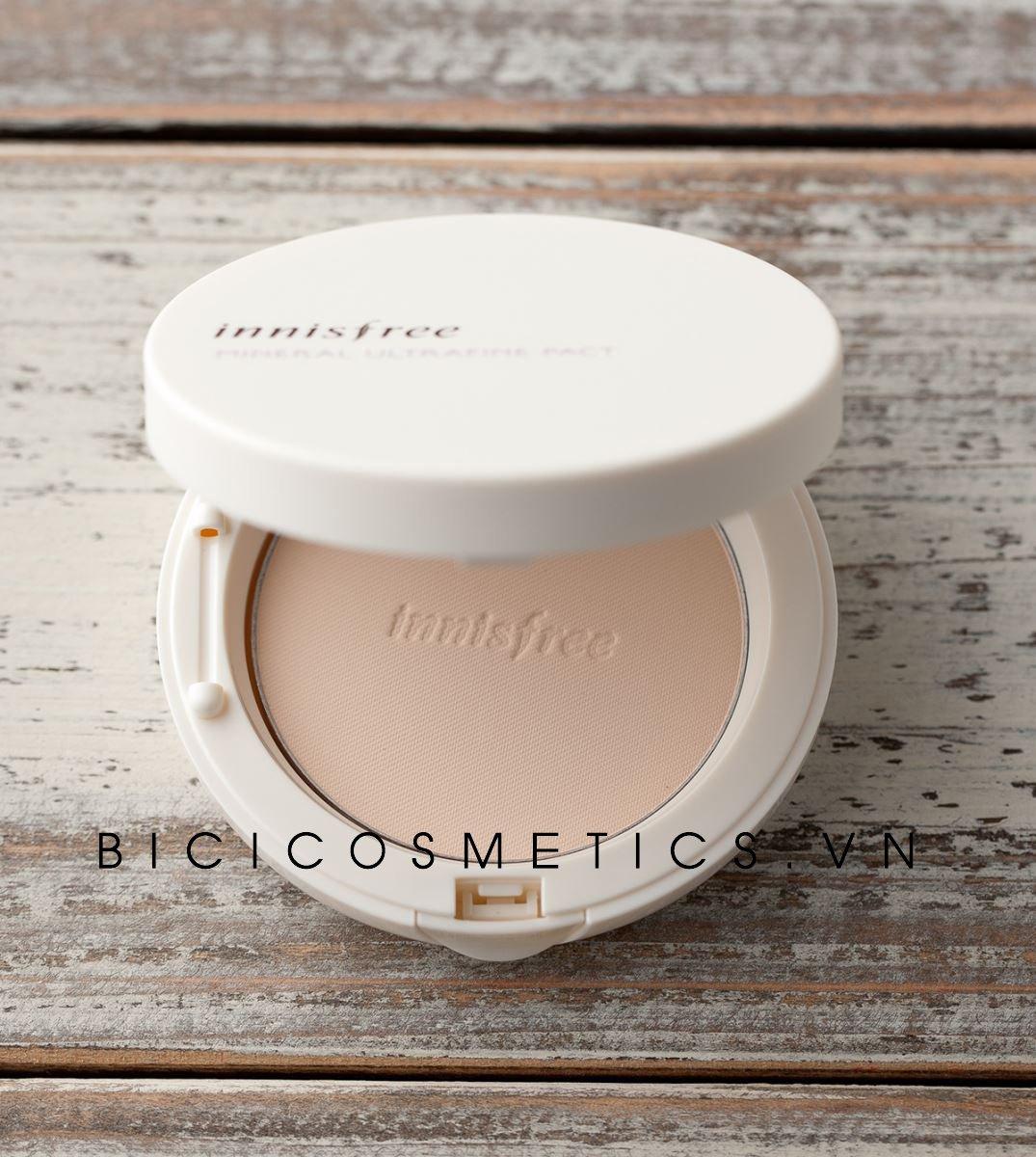Innisfree Mineral UV Whitening Pact 3- Bici Cosmetics