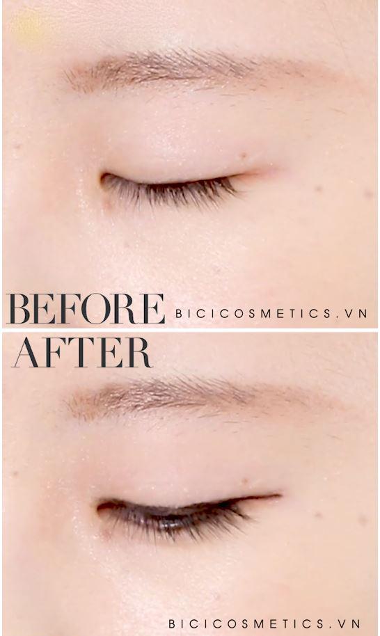Kẻ mắt Gel Eyeliner Nhật Heroine Kiss me2 - Bici Cossmetics