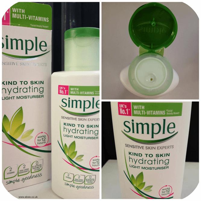 mùi hương sản phẩm kem dưỡng simple