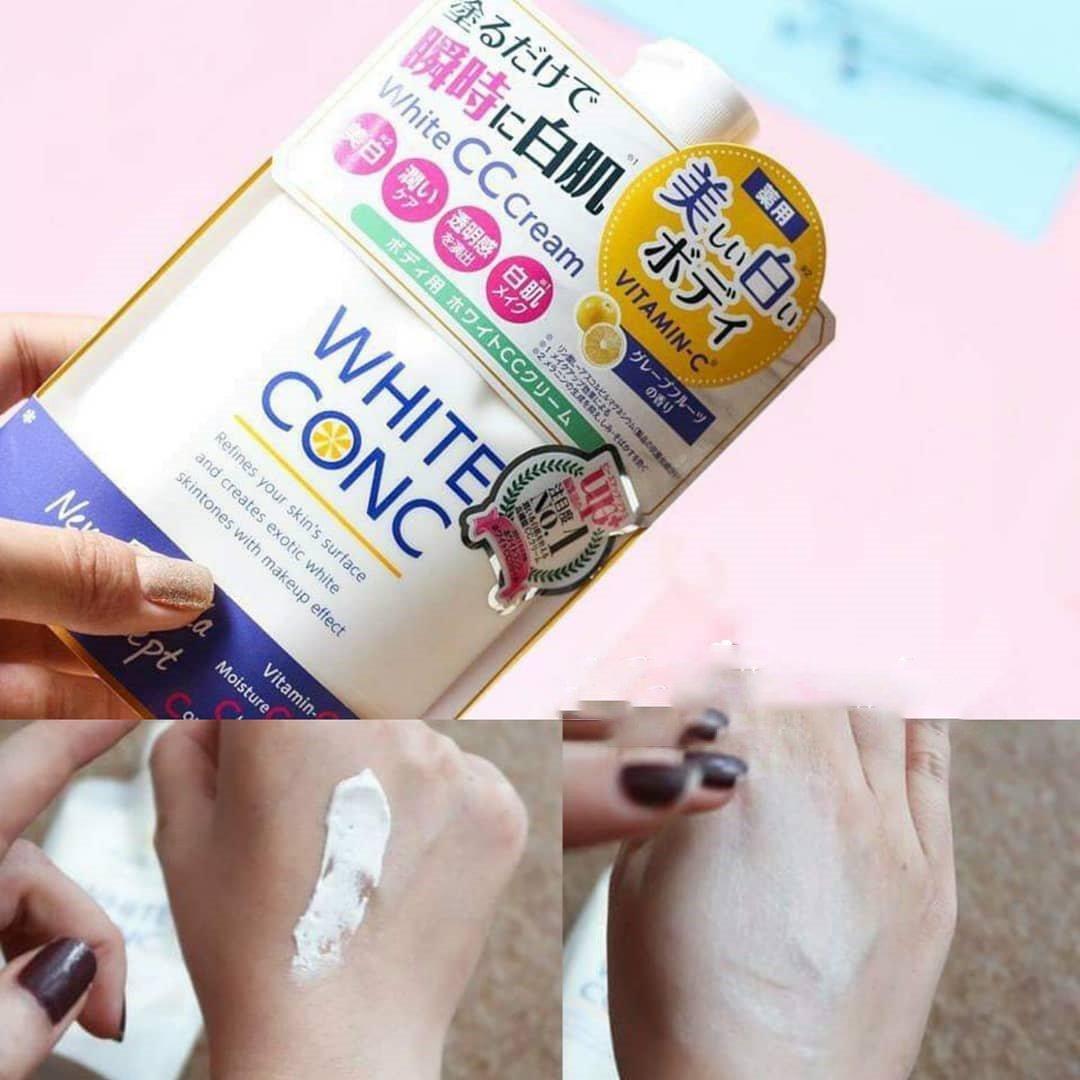 Kem Dưỡng Trắng Da White CC Cream 6- Bici Cosmetics