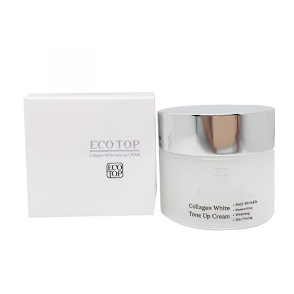 [NEW] Kem Dưỡng Trắng Da Eco Top Collagen White Tone Up (50 ml)
